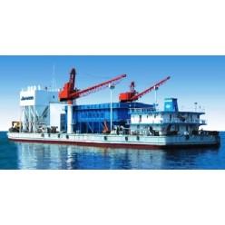 Бетонный завод контейнерного типа на судне 2HLSC160