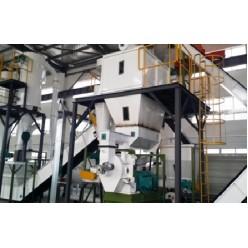 Линия по производству топливных гранул (пиллет) 5-8 т в ч