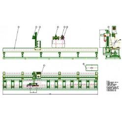 Автоматическая машина плазменной резки труб YQ820