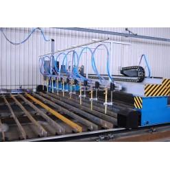 Автоматический стан для изготовления двутавровой и тавровой балки HYJ-40 H