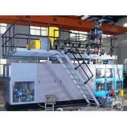 Автоматическая выдувная формовочная машина для изготовления пластиковой бочки
